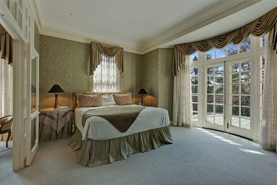 Real Estate Photography - 89 E Deerpath, Lake Forest, IL, 60045 - Master Bedroom