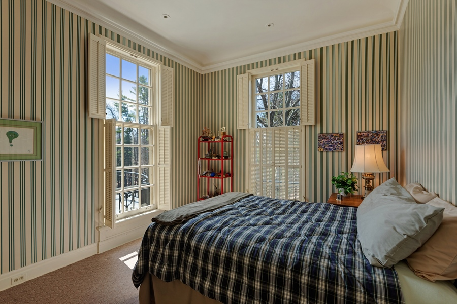 Real Estate Photography - 89 E Deerpath, Lake Forest, IL, 60045 - 2nd Bedroom
