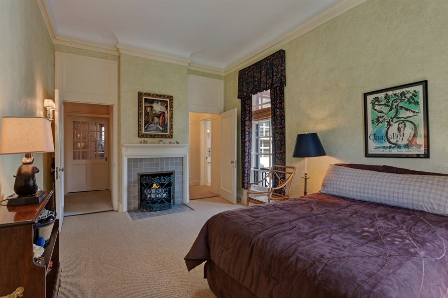 Real Estate Photography - 89 E Deerpath, Lake Forest, IL, 60045 - 3rd Bedroom