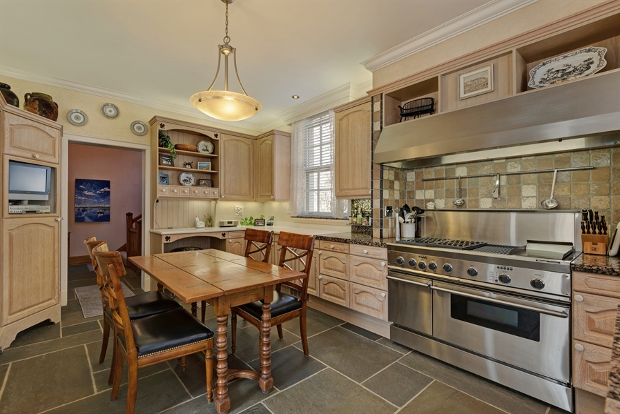 Real Estate Photography - 89 E Deerpath, Lake Forest, IL, 60045 - Kitchen