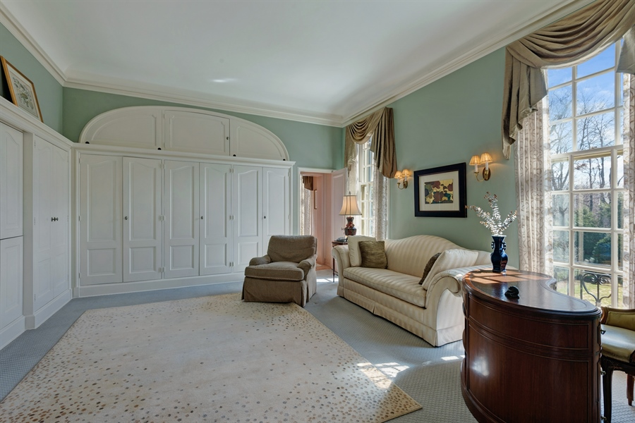 Real Estate Photography - 89 E Deerpath, Lake Forest, IL, 60045 - Master Bedroom Sitting Room