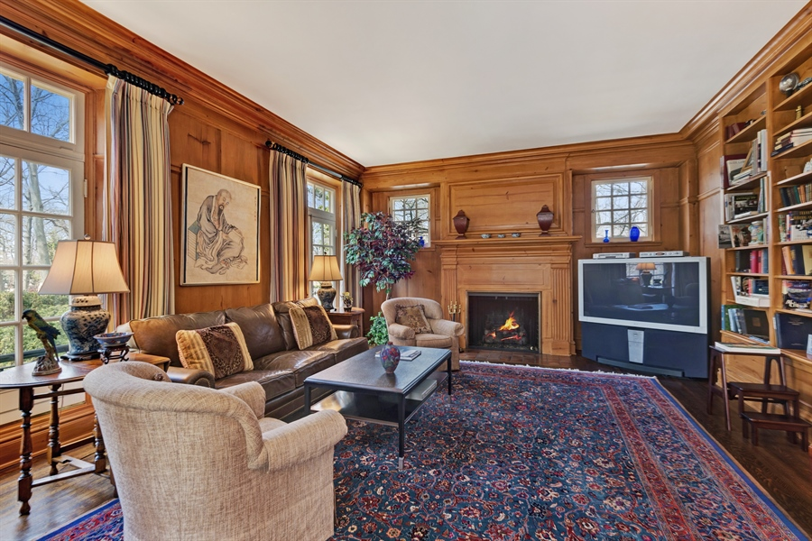 Real Estate Photography - 89 E Deerpath, Lake Forest, IL, 60045 - Family Room