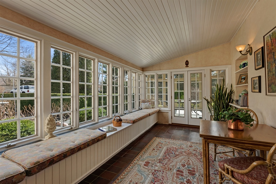 Real Estate Photography - 89 E Deerpath, Lake Forest, IL, 60045 - Four Season Sun Room