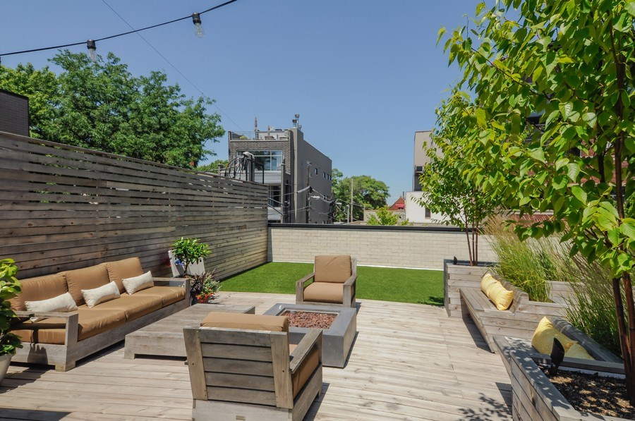 Real Estate Photography - 2138 N Damen, 2, Chicago, IL, 60647 - Terrace 4