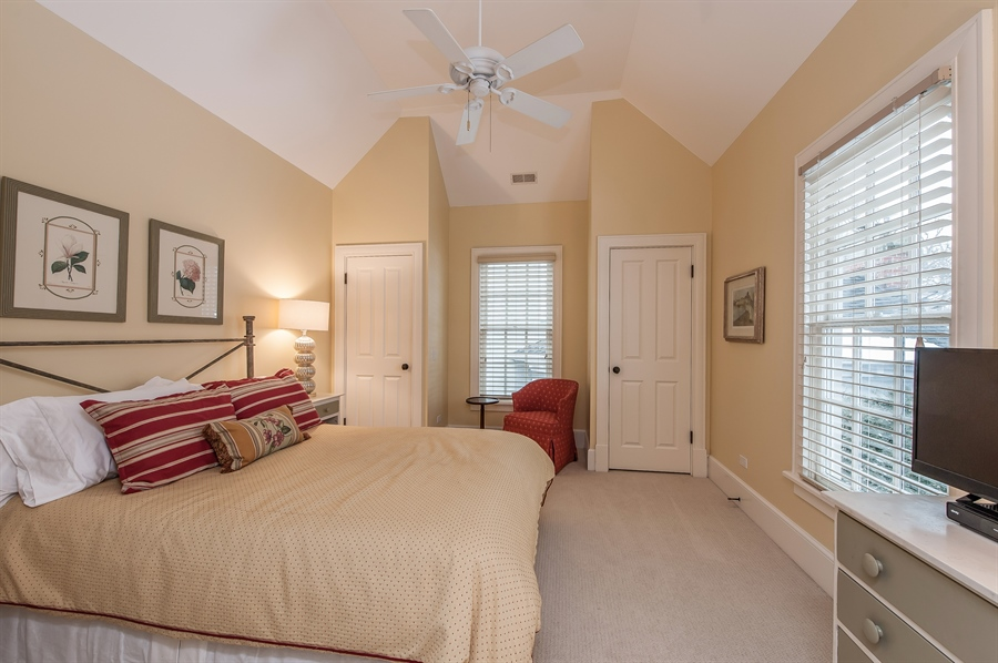 Real Estate Photography - 1182 Asbury, Winnetka, IL, 60093 - 2nd Bedroom