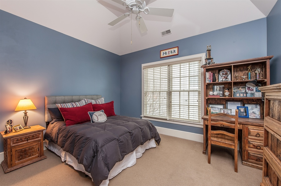 Real Estate Photography - 1182 Asbury, Winnetka, IL, 60093 - 3rd Bedroom
