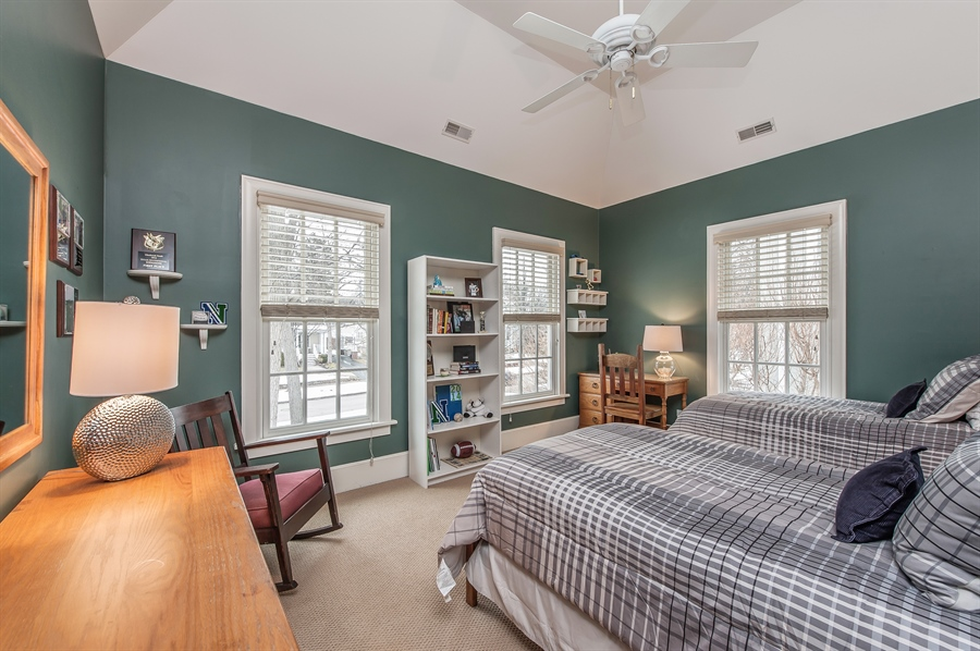 Real Estate Photography - 1182 Asbury, Winnetka, IL, 60093 - 4th Bedroom
