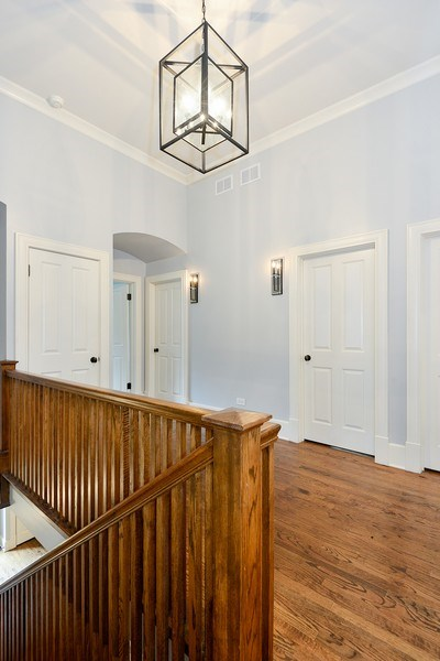 Real Estate Photography - 1182 Asbury, Winnetka, IL, 60093 - Hallway