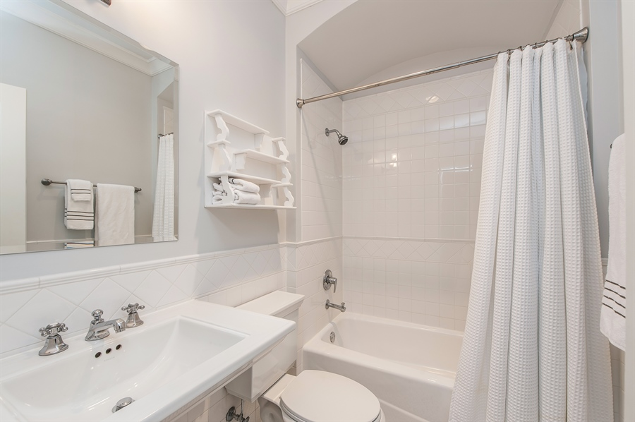 Real Estate Photography - 1182 Asbury, Winnetka, IL, 60093 - 2nd Bathroom