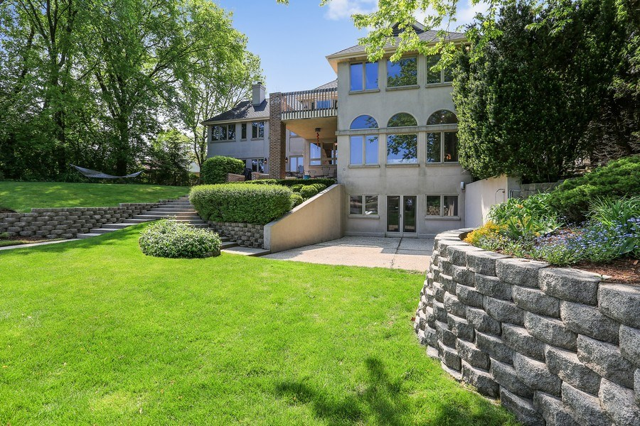 Real Estate Photography - 2090 W Touhy, Park Ridge, IL, 60068 - Back Yard and Raised Gardens