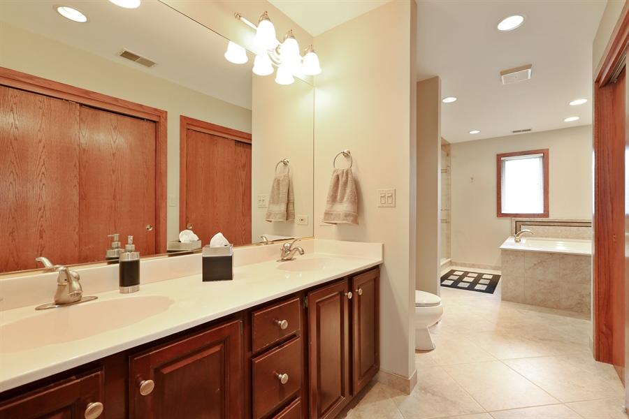 Real Estate Photography - 2090 W Touhy, Park Ridge, IL, 60068 - Master Bathroom