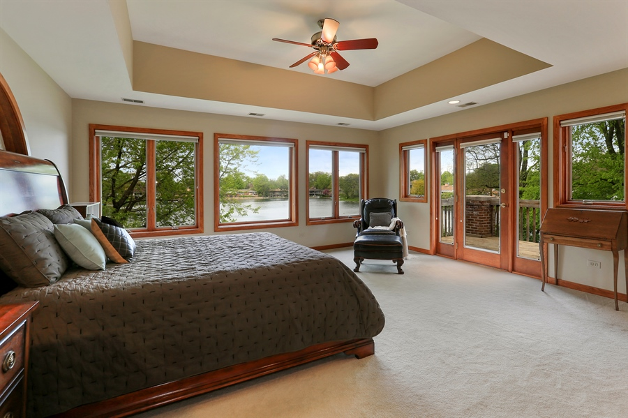 Real Estate Photography - 2090 W Touhy, Park Ridge, IL, 60068 - Master Bedroom
