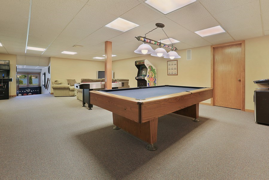 Real Estate Photography - 2090 W Touhy, Park Ridge, IL, 60068 - LL Game/Recreation Rm