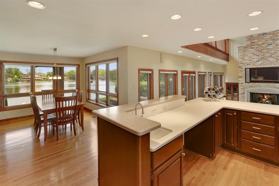 Real Estate Photography - 2090 W Touhy, Park Ridge, IL, 60068 - Lake Views off Kitchen & Family Room