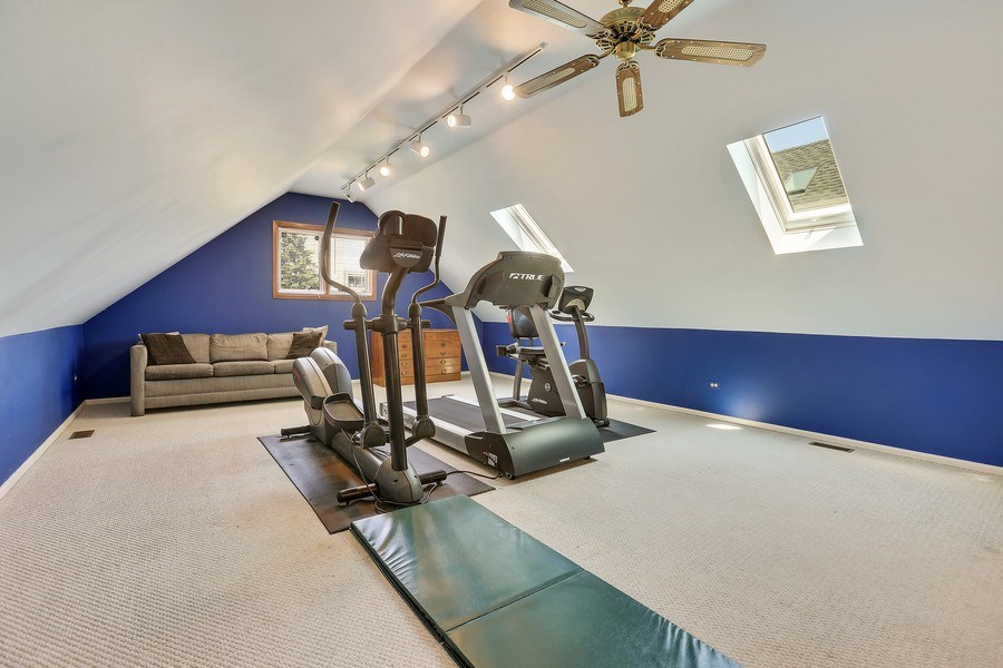 Real Estate Photography - 2090 W Touhy, Park Ridge, IL, 60068 - Exercise Rm/Private Guest Quarter