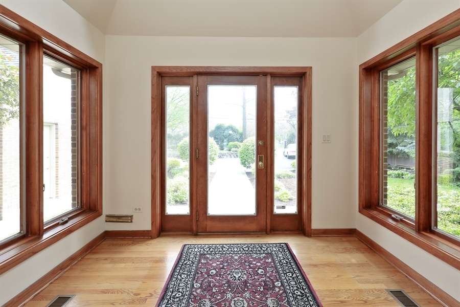 Real Estate Photography - 2090 W Touhy, Park Ridge, IL, 60068 - Double Entryway