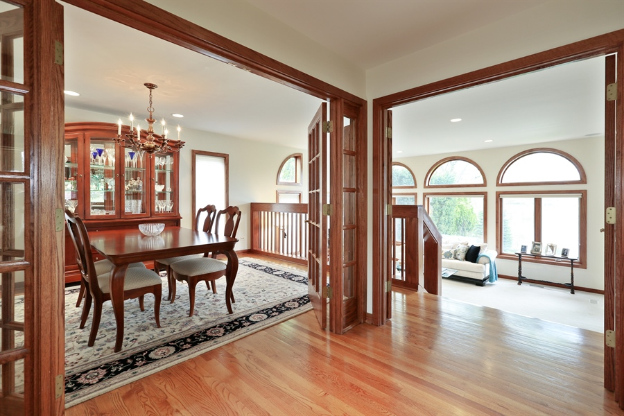 Real Estate Photography - 2090 W Touhy, Park Ridge, IL, 60068 - Living Room / Dining Room