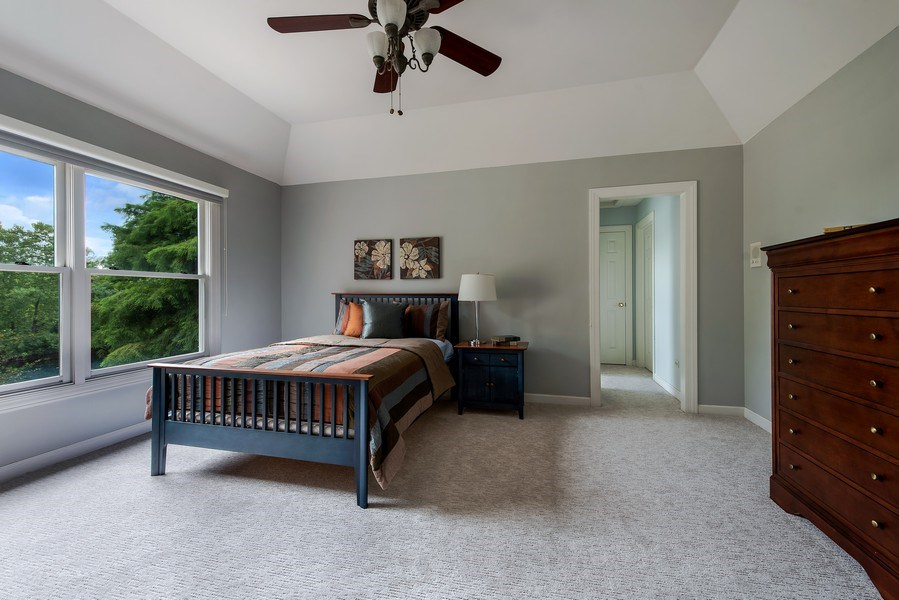 Real Estate Photography - 2126 Chandler Ln, Glenview, IL, 60026 - Master Bedroom