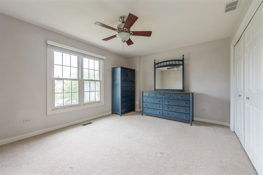 Real Estate Photography - 2126 Chandler Ln, Glenview, IL, 60026 - 3rd Bedroom