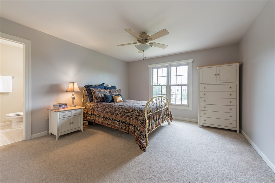 Real Estate Photography - 2126 Chandler Ln, Glenview, IL, 60026 - 4th Bedroom
