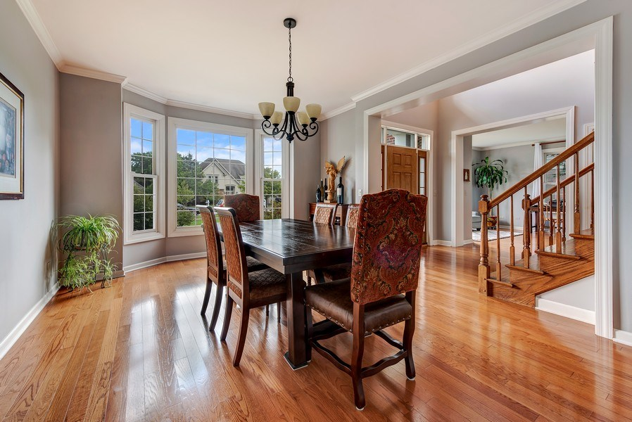 Real Estate Photography - 2126 Chandler Ln, Glenview, IL, 60026 - Dining Room