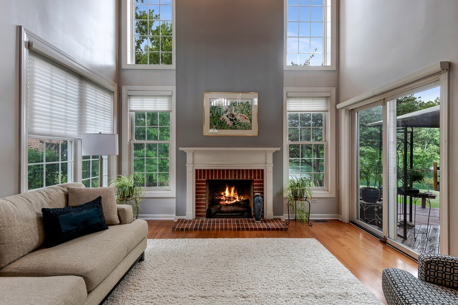 Real Estate Photography - 2126 Chandler Ln, Glenview, IL, 60026 - Family Room/Great Room
