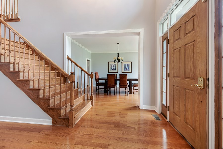 Real Estate Photography - 2126 Chandler Ln, Glenview, IL, 60026 - Foyer