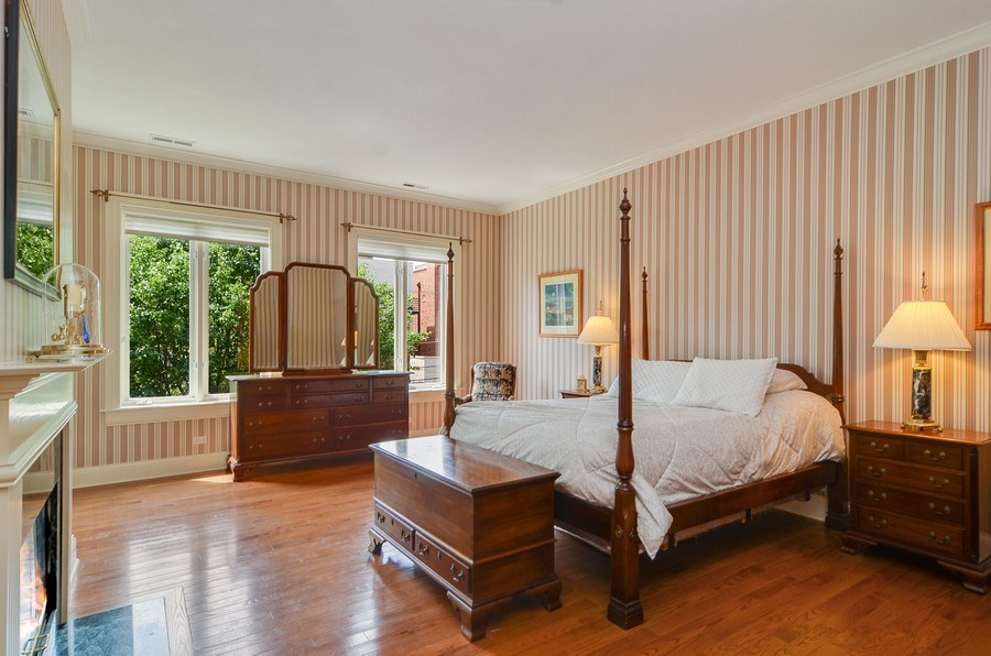 Real Estate Photography - 1027 W Lill, Chicago, IL, 60614 - Master Bedroom