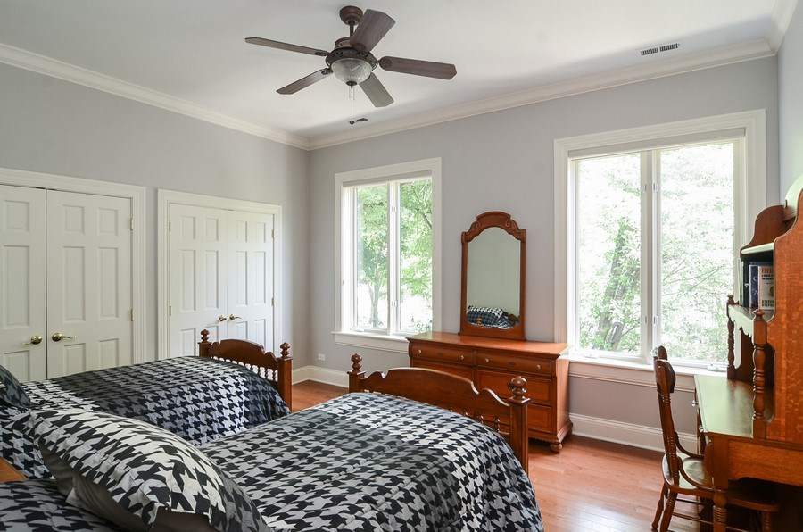 Real Estate Photography - 1027 W Lill, Chicago, IL, 60614 - 2nd Bedroom