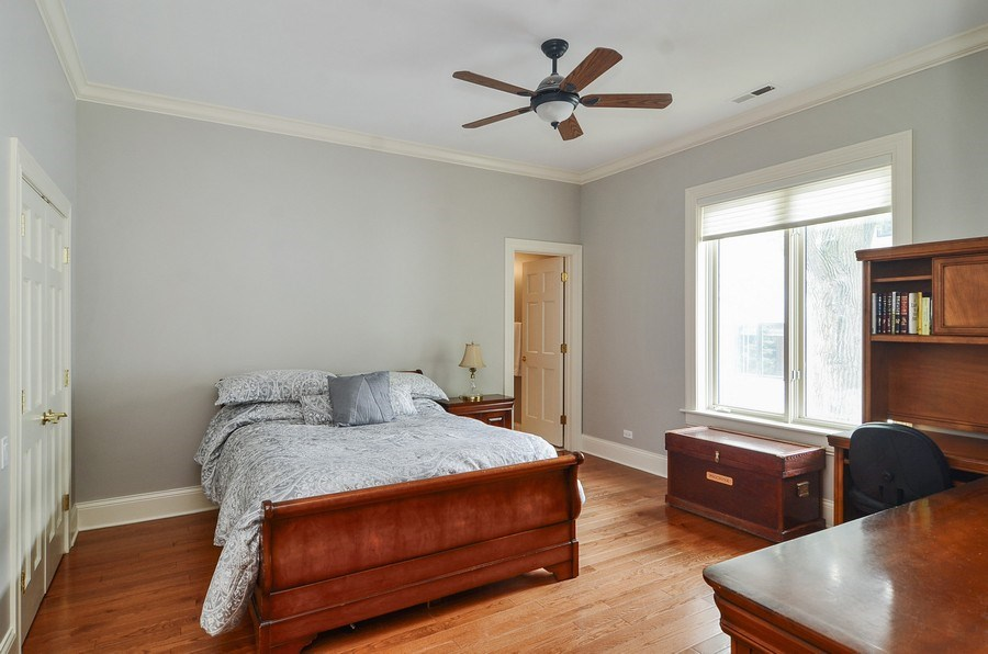 Real Estate Photography - 1027 W Lill, Chicago, IL, 60614 - 4th Bedroom