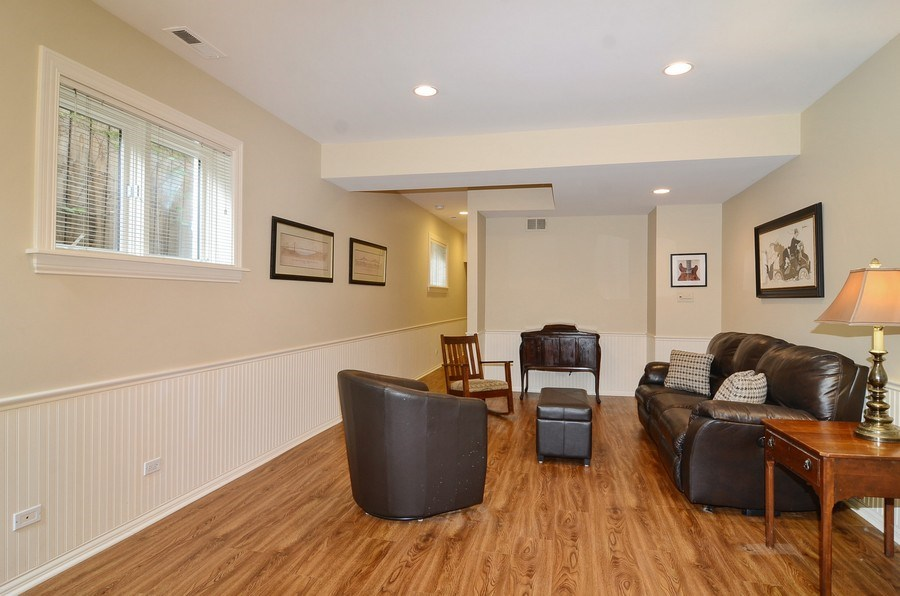 Real Estate Photography - 1027 W Lill, Chicago, IL, 60614 - Lower Level