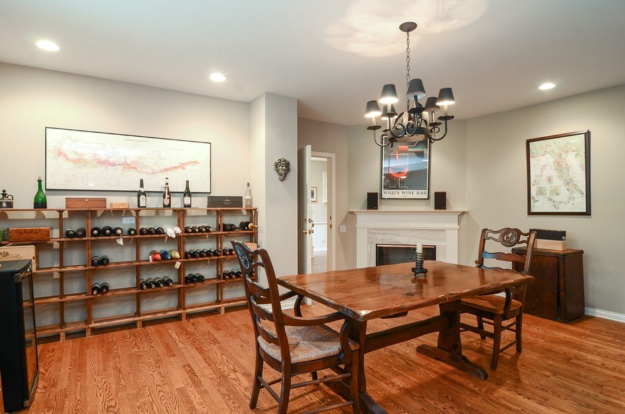 Real Estate Photography - 1027 W Lill, Chicago, IL, 60614 - Wine Cellar