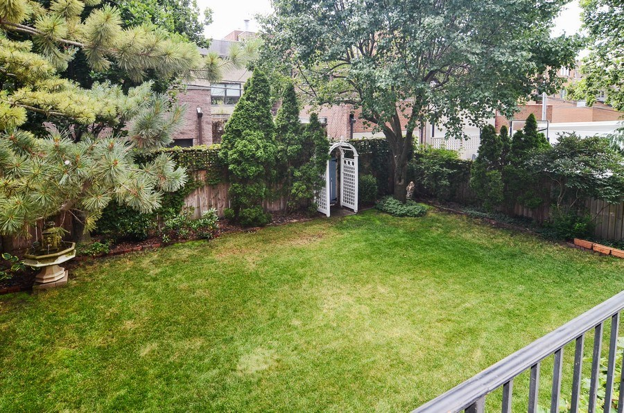 Real Estate Photography - 1027 W Lill, Chicago, IL, 60614 - Back Yard