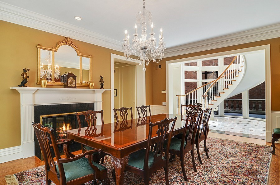 Real Estate Photography - 1027 W Lill, Chicago, IL, 60614 - Dining Area
