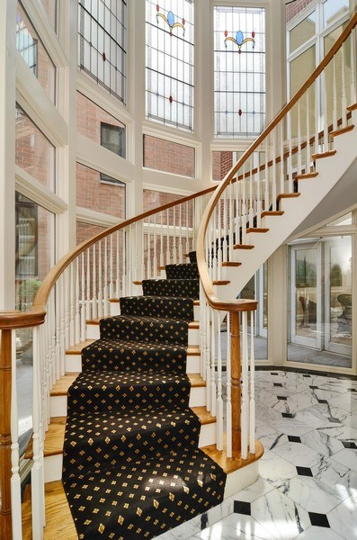 Real Estate Photography - 1027 W Lill, Chicago, IL, 60614 - Staircase