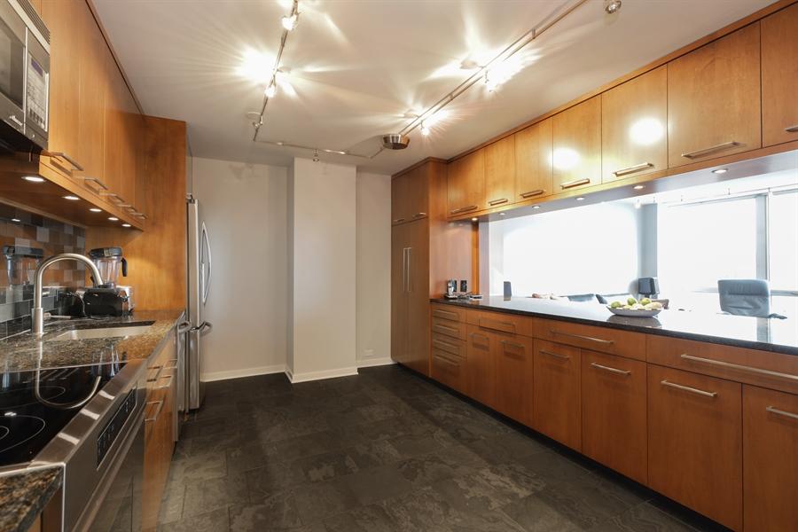 Real Estate Photography - 330 W Diversey, Apt 2308-2309, Chicago, IL, 60657 - Kitchen