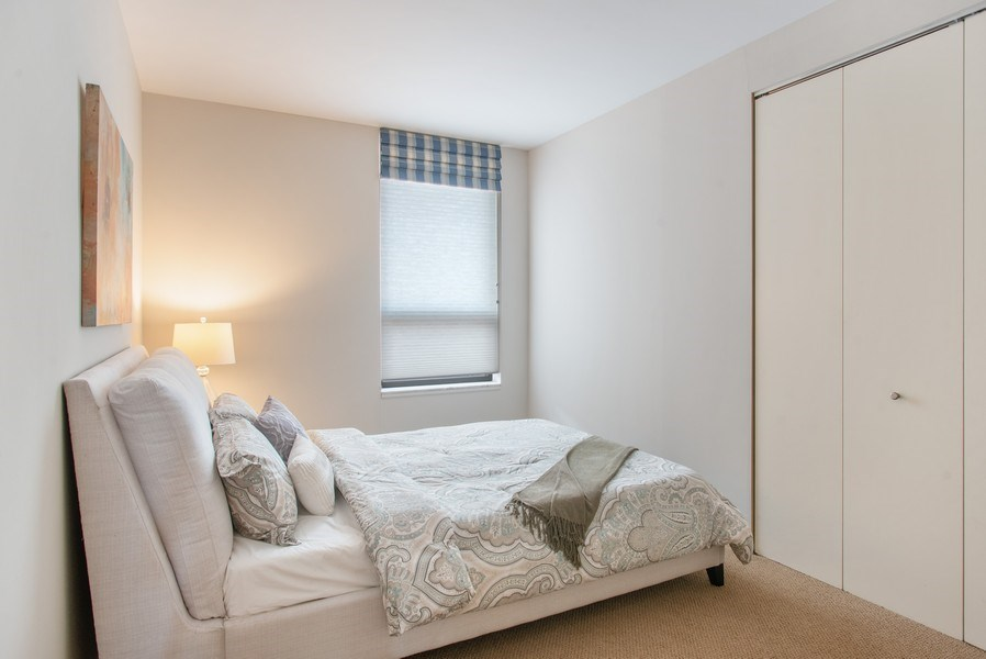 Real Estate Photography - 1040 N Lake Shore Dr, 5A, Chicago, IL, 60611 - 3rd Bedroom