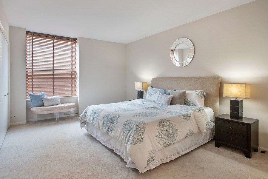Real Estate Photography - 1040 N Lake Shore Dr, 5A, Chicago, IL, 60611 - 2nd Bedroom