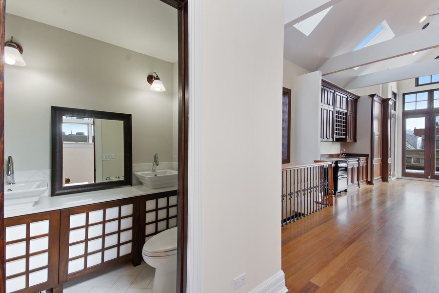 Real Estate Photography - 1664 N Burling, Chicago, IL, 60614 - 3rd Bathroom