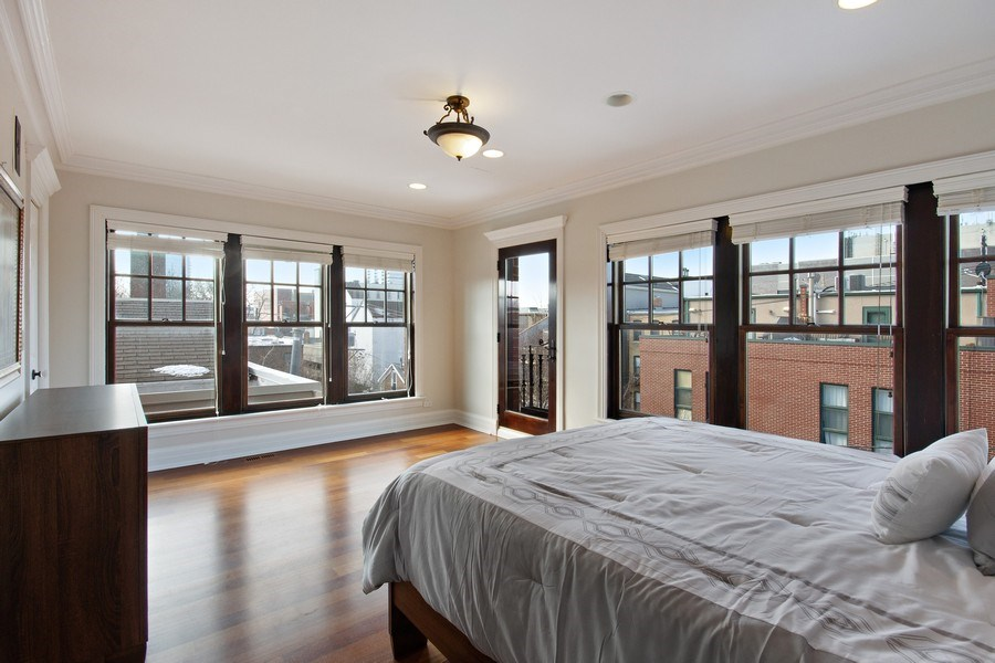 Real Estate Photography - 1664 N Burling, Chicago, IL, 60614 - 3rd Bedroom
