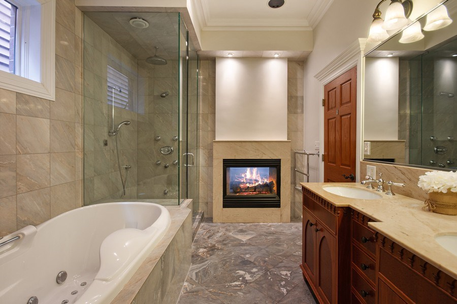 Real Estate Photography - 1664 N Burling, Chicago, IL, 60614 - Master Bathroom