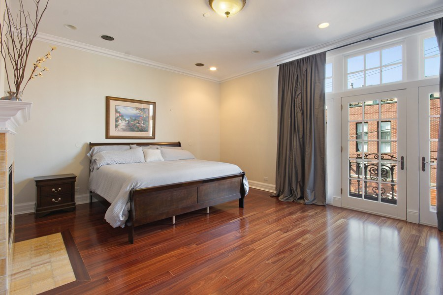 Real Estate Photography - 1664 N Burling, Chicago, IL, 60614 - Master Bedroom