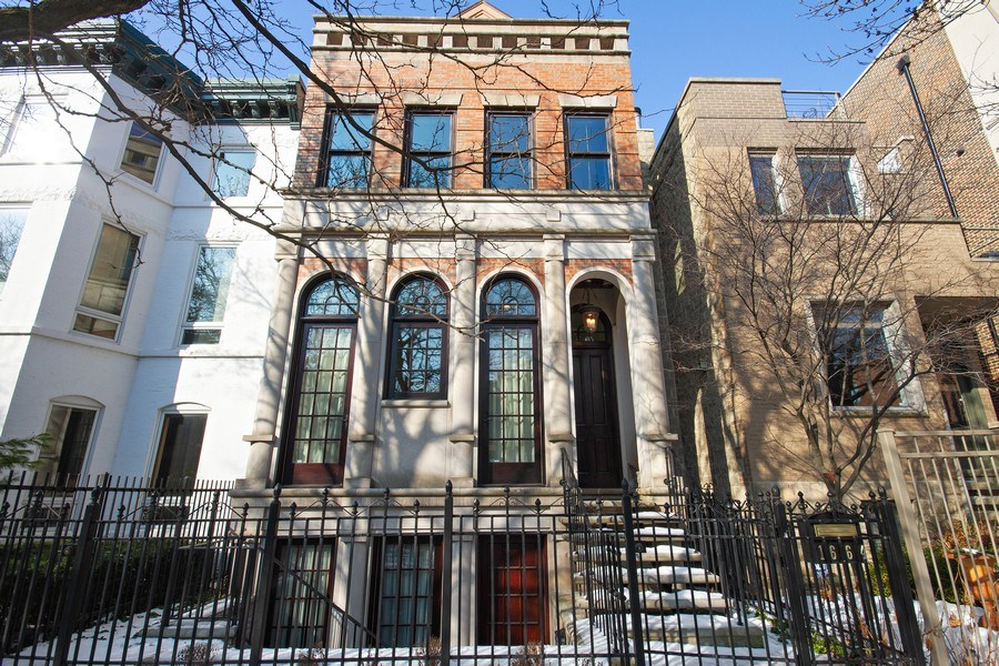 Real Estate Photography - 1664 N Burling, Chicago, IL, 60614 - Front View