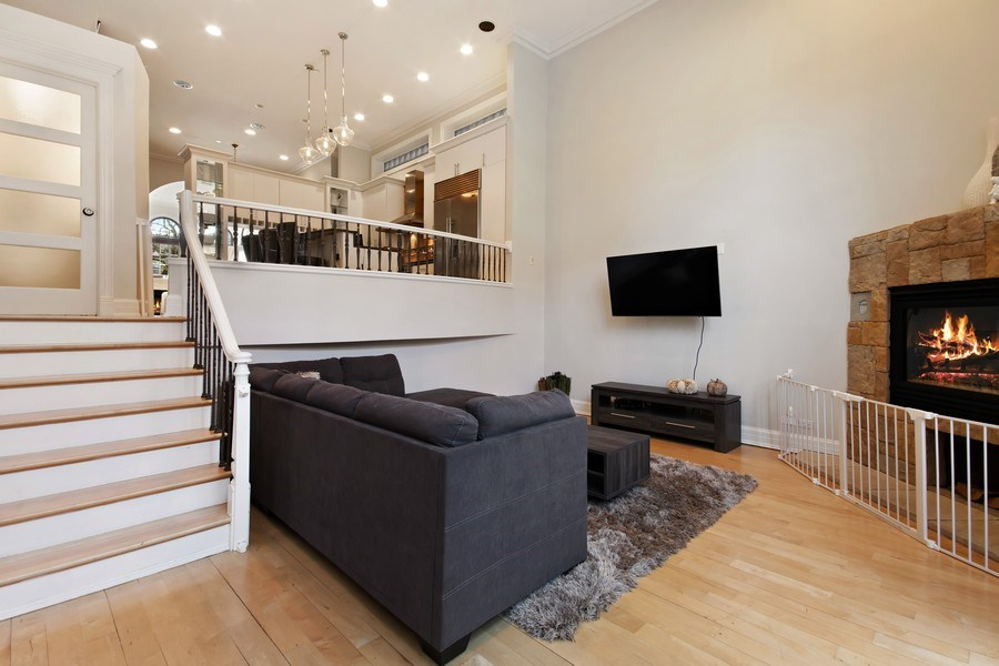 Real Estate Photography - 1664 N Burling, Chicago, IL, 60614 - Family Room