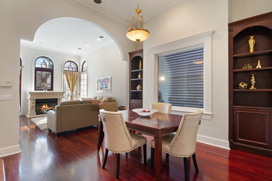 Real Estate Photography - 1664 N Burling, Chicago, IL, 60614 - Dining Room
