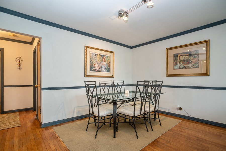 Real Estate Photography - 1716 S Prospect, Park Ridge, IL, 60068 - Dining Area