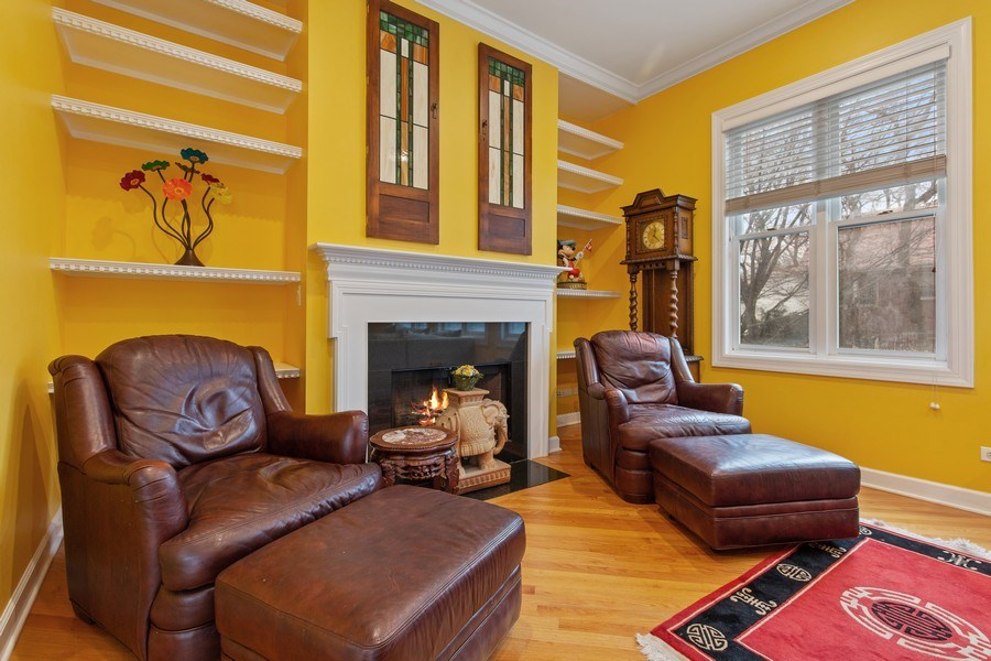 Real Estate Photography - 511 Forest Ave, Evanston, IL, 60202 - Living Room