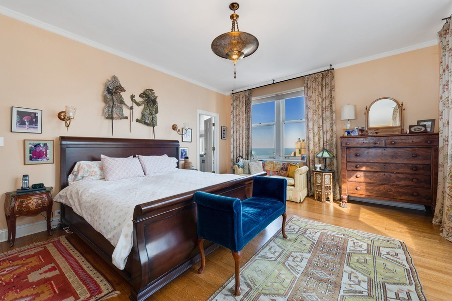 Real Estate Photography - 179 East Lake Shore Drive, Apartment 22E, Chicago, IL, 60611 - Master Bedroom