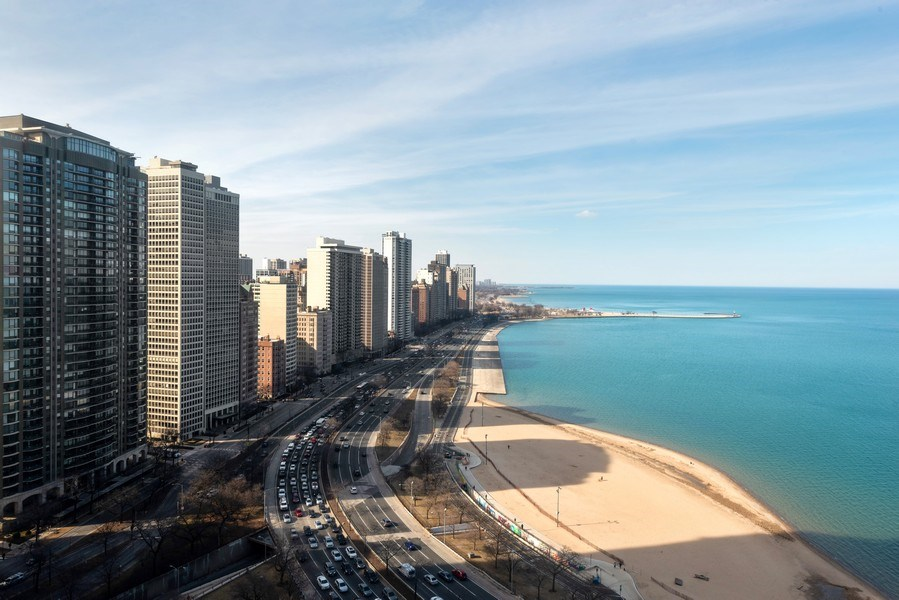 Real Estate Photography - 179 East Lake Shore Drive, Apartment 22E, Chicago, IL, 60611 - View