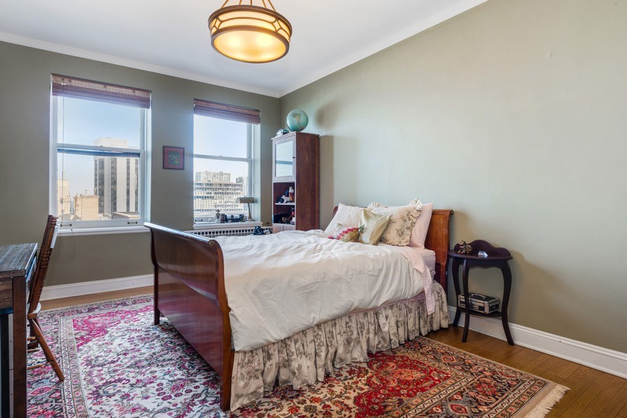 Real Estate Photography - 179 East Lake Shore Drive, Apartment 22E, Chicago, IL, 60611 - 2nd Bedroom
